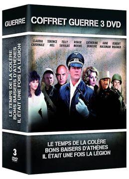 Coffret Guerre 3 films : Le Temps de la colère + Bons baisers d'Athènes + Il était une fois la Légion