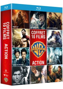 Collection de 10 films action Warner