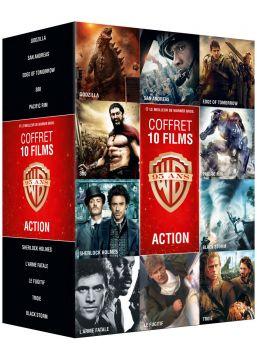 Collection de 10 films action Warner