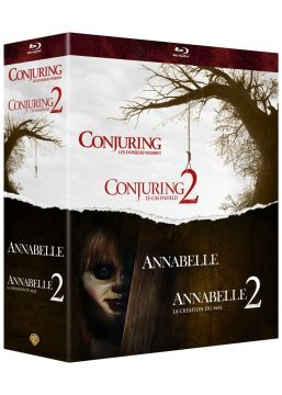 Warren - Collection de 4 films - Annabelle et Conjuring