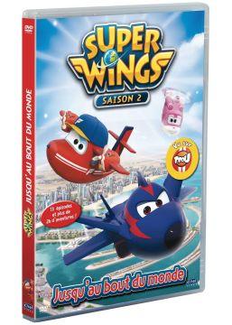 Super Wings - Saison 2, Vol. 4 : Jusqu'au bout du monde