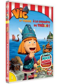 Vic le Viking - Vol. 1 - À la conquête du trésor !