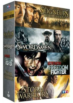 Collection Sabre et guerre : Les seigneurs de la guerre + Swordsmen + Goemon the Freedom Fighter + The Storm Warriors