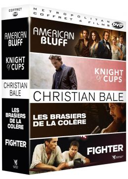 Christian Bale : American Bluff + Knight of Cups + Les Brasiers de la colère + Fighter