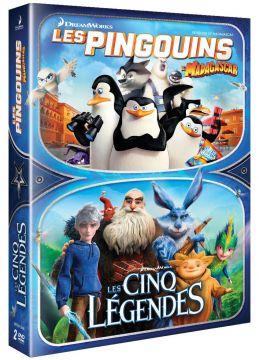 Les Pingouins de Madagascar + Les Cinq légendes