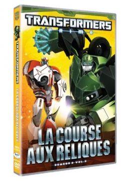 Transformers Prime - Saison 2, Vol. 3 : La course aux reliques