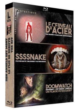 Trésors du Fantastique Vol. 2 : Le Cerveau d'acier + Ssssnake + Doomwatch