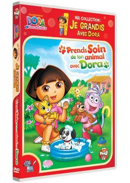 Dora l'exploratrice - Ma collection : Je grandis avec Dora - Prends soin de ton animal avec Dora