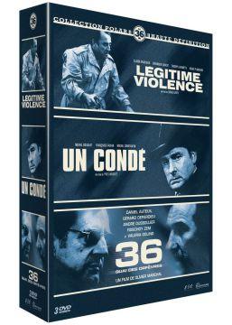 """Collection """"Le 36"""" : Légitime violence + Un Condé + 36 quai des Orfèvres"""