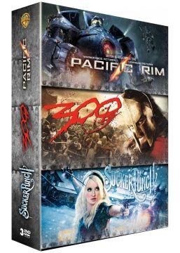 Pacific Rim + Sucker Punch + 300