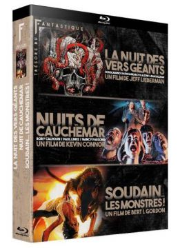 Trésors du Fantastique Vol. 1 : La Nuit des vers géants + Nuits de cauchemar + Soudain les monstres