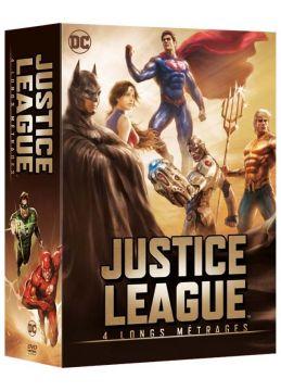Justice League - 4 longs métrages: Le paradoxe Flashpoint + Le Trône de l'Atlantide + Dieux et monstres + vs les Teen Titans