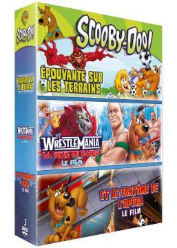 Scooby-doo!: Le fantôme de l'opéra + La folie du catch + Épouvante sur les terrains