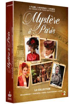 Mystère à Paris - La collection : Moulin Rouge + Tour Eiffel + Opéra + Place Vendôme + Louvre