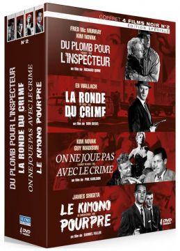 Films Noirs Vol. 2 : Du plomb pour l'inspecteur + La Ronde du crime + On ne joue pas avec le crime + Le Kimono pourpre