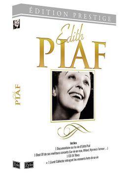 Édith Piaf - Coffret : Le best of de ses concerts + Le documentaire sur sa carrière
