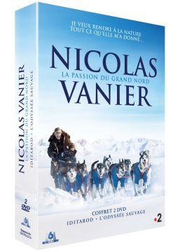 Nicolas Vanier, la passion du Grand Nord - Coffret : Iditarod + L'Odyssée sauvage