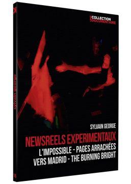 Sylvain George : Newsreel expérimentaux : L'impossible : Pages arrachées + Vers Madrid : The Burning Bright