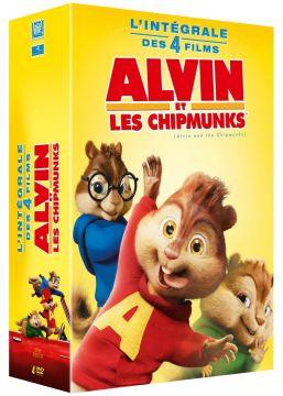 Alvin et les Chipmunks - L'intégrale des 4 films