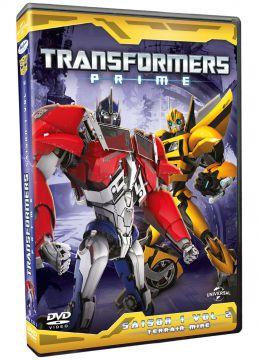 Transformers Prime - Volume 2 : Terrain miné