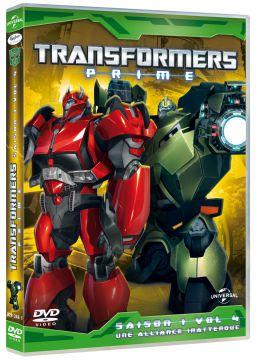 Transformers Prime - Volume 4 : Une alliance inattendue