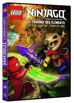 LEGO Ninjago, Les maîtres du Spinjitzu - Saison 4 - Le tournoi des éléments - Partie 1