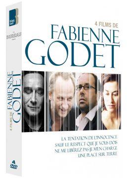 4 films de Fabienne Godet : La Tentation de l'innocence + Sauf le respect que je vous dois + Ne me libérez pas, je m'en charge + Une place sur la Terre