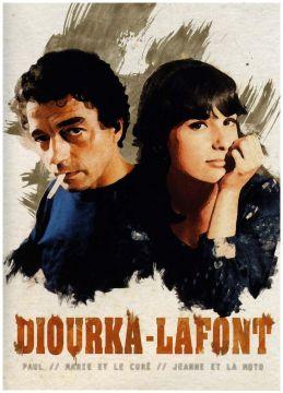 Diourka - Lafont - 3 films : Paul + Marie et le curé + Jeanne et la moto