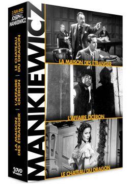Joseph L. Mankiewicz - Coffret 3 films : La Maison des étrangers + L'Affaire Cicéron + Le Château du dragon