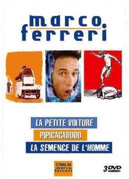 Marco Ferreri - Coffret - La petite voiture + La semence de l'homme + Pipicacadodo