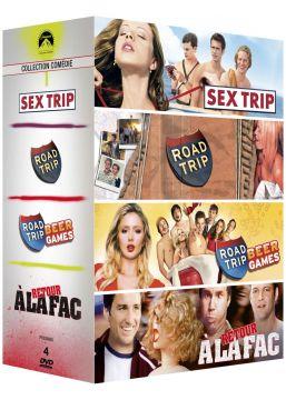 Paramount CollectionComédies: Sex Trip + Road Trip + Road Trip: Beer Games + Retour à la Fac