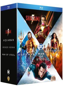 Origin Stories - Man of Steel + Wonder Woman + Aquaman + Shazam!