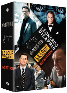 Leonardo DiCaprio: Le loup de Wall Street + Gatsby le magnifique + Inception + J. Edgar