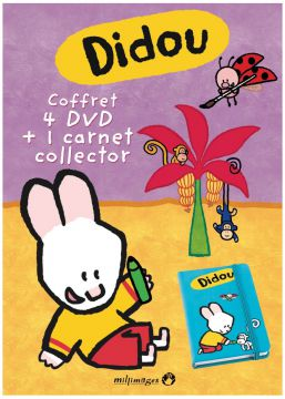 Didou dessine-moi - Coffret 4 DVD : Vol. 5 + 6 + 7 + 8