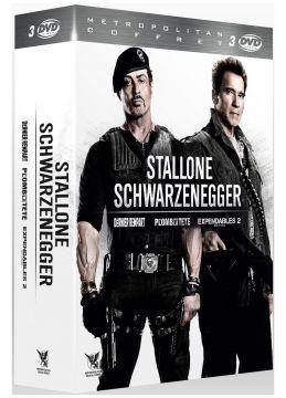 Stallone - Schwarzenegger : Du plomb dans la tête + Le Dernier rempart + Expendables 2 - Unité spéciale