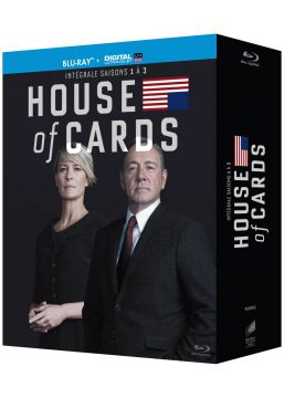 House of Cards - Intégrale saisons 1-2-3