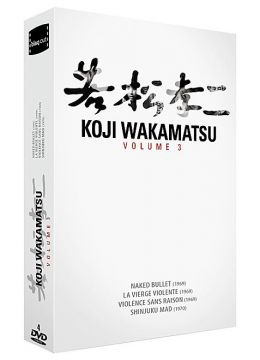 Kôji Wakamatsu - Vol. 3 (Coffret 4 DVD)