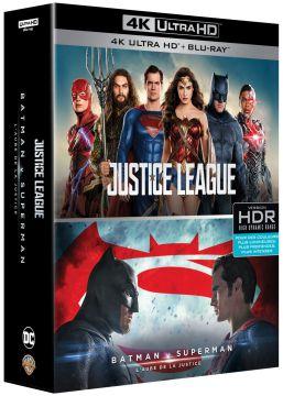DC Universe - Coffret 2 films : Justice League + Batman v Superman : L'aube de la justice