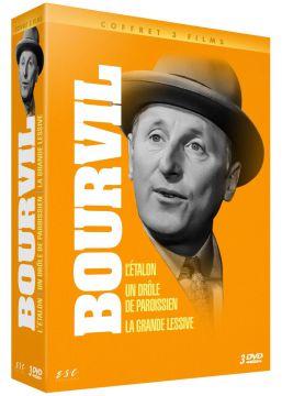 Bourvil : L'Etalon + Un Drôle de paroissien + La Grande lessive (!)