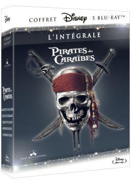 Pirates des Caraïbes - Intégrale - 5 films