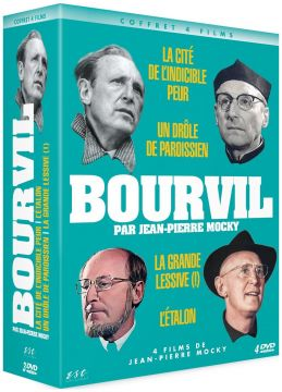 Bourvil par Jean-Pierre Mocky - Coffret 4 Films