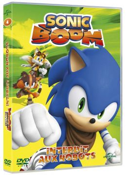 Sonic Boom - Saison 1 - Volume 4 - Interdit aux robots