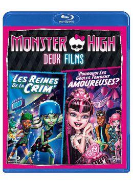 Monster High - Deux films : Les reines de la CRIM' + Pourquoi les goules tombent amoureuses ?