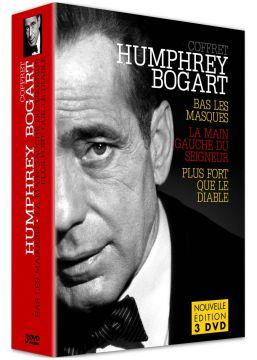 Humphrey Bogart : Bas les masques + La Main gauche du seigneur + Plus fort que le diable
