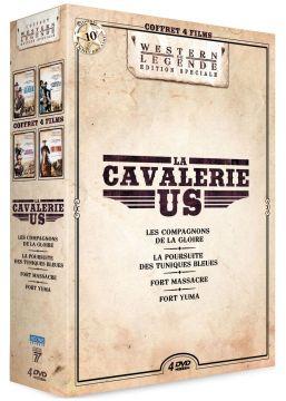 La Cavalerie US : Les Compagnons de la gloire + La Poursuite des Tuniques Bleues + Fort Massacre + Fort Yuma